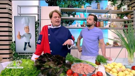 Plăcintă cu pui și cartofi noi, rețeta lui Vlăduț de la Neatza cu Răzvan și Dani