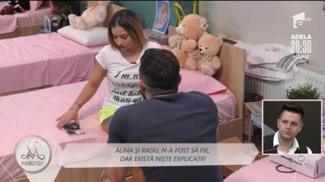 Radu tinde să-l creadă pe Bogdan! Alina, păreri de necrezut?