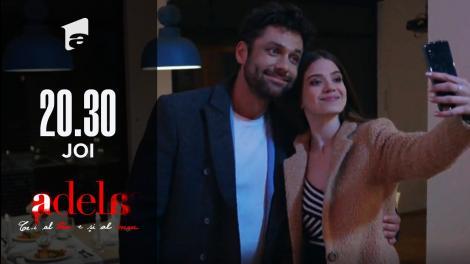 Adela, episodul 39. Cu ajutorul prietenilor, Mihai îi pregătește o cină romantică Adelei
