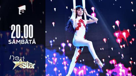 Next Star - Sezonul 10: Isabela Pacriste - moment de acrobație în aer