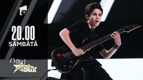 Next Star - Sezonul 10: Andu Pițigoi - cântă la chitară, chitară bass și tobe