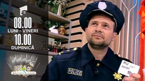 Agentul de Poliție Robert Tudor, super show de magie și comedie
