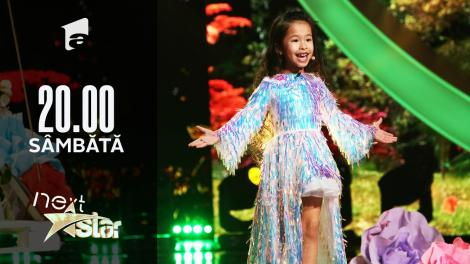 "Next Star - Sezonul 10: Liu Nan Funaru - Interpretează piesa ""A Million Dreams"""