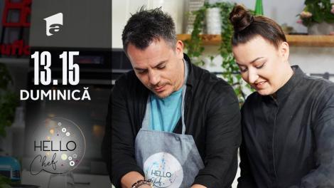 Pate de casă, rețeta lui chef Roxana Blenche, la Hello Chef. Răzvan Fodor, invitatul ediției