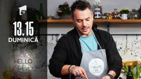 Păcintă cu mere, rețeta lui chef Roxana Blenche, la Hello Chef. Răzvan Fodor, invitatul ediției