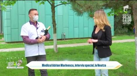 Medicul Adrian Marinescu, interviu special, la Neatza cu Răzvan și Dani