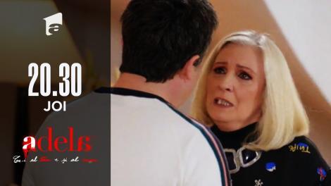 """Adela, episodul 42. Paul o confruntă pe mama lui! """"I-ați omorât pe Bogdan și Amalia!"""""""