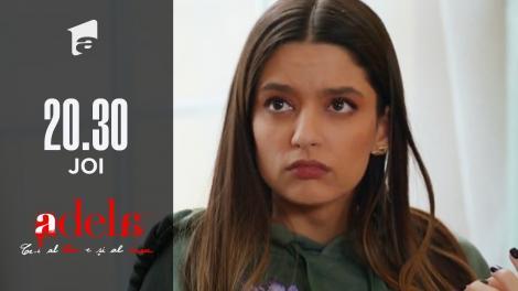 """Adela, episodul 41. Andreea refuză să meargă sa dea declarații la Poliție! """"Nu pot să fac asta acum! Vă bateți joc de sufletul meu!"""""""