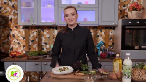 Roxana Blenche, plating excepțional pentru un mic dejun delicios, la BeautiFood pe AntenaPlay