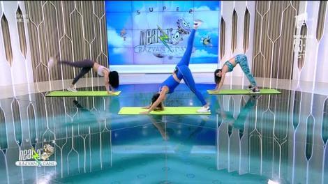 Antrenamentul Animal Flow. Fitness cu Diana Stejereanu