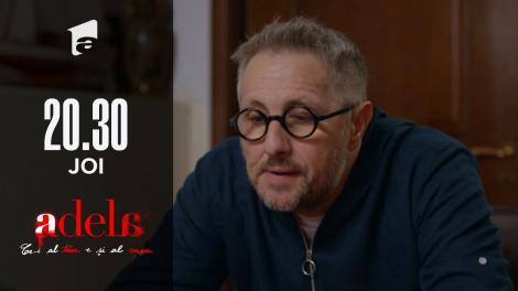 Adela, episodul 44. Dorin află că Luca nu este copilul lui!
