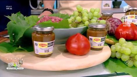Rețeta lui Vlăduț: Sărmăluțe cu carne de vită