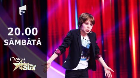 Next Star - Sezonul 10: Victor Munteanu - moment de actorie și stand-up comedy