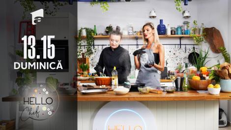 Rețete culinare. Ramona Olaru și chef Roxana Blenche gătesc arancini