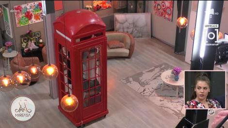 Cabina telefonică, cea mai tare provocare din casa Mireasa! Uite cine a câștigat proba
