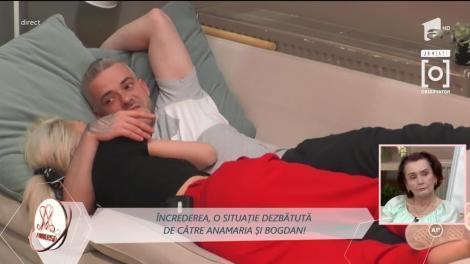 Anamaria și Bogdan, dialoguri despre trecut: Nu am luptat amândoi!