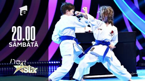 Next Star - Sezonul 10: Energy Fit – moment la pian și show de karate