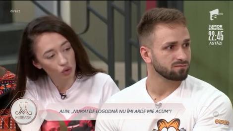 Doamna Daniela către Alin: De ce nu pui stop? Vrei să stea cu tine din milă?