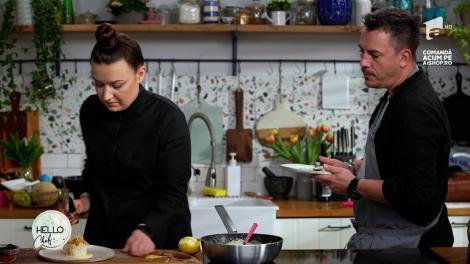 Roxana Blenche îl invită pe Răzvan Fodor în bucătăria Hello Chef