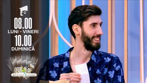 Transformă bonul fiscal în bani! Antonio Satîru, cel mai înalt magician din România, show de magie