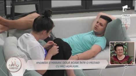 Marian și Andreea, ceartă după distracție: Mă iei la mișto!?
