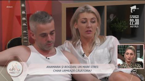 Anamaria și Bogdan se gândesc la nuntă: Dacă tu îmi zici, ne căsătorim aici!