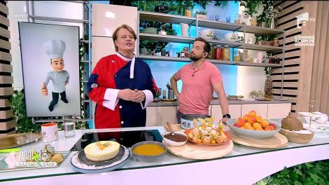 Cheesecake cu fructe și caramel, rețeta lui Vlăduț de la Neatza cu Răzvan și Dani