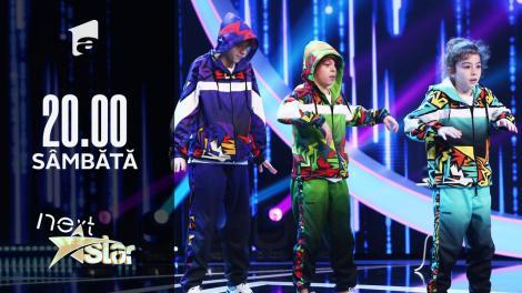 Next Star - Sezonul 10:  Varza Gang – Moment de breakdance