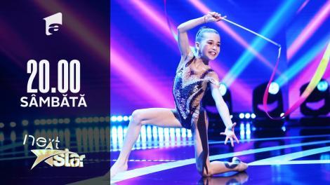 Next Star - Sezonul 10: Alexia Ghica - Moment de gimnastică ritmică