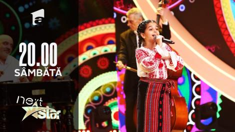 "Next Star - Sezonul 10: Daria Mușat – Interpretează piesa ""Mi-am pus busuioc în păr"""