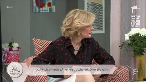Alin vrea să încheie relația cu Adelina: Nu o iubesc!