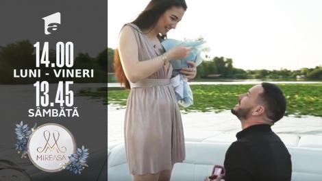 Mireasa 2021, sezonul 3. Ionuț a cerut-o în căsătorie pe Romina