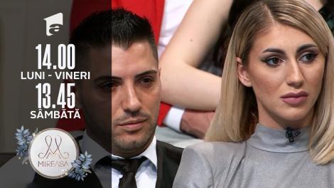 Gala Mireasa, 10 iulie 2021, sezonul 3. Maria, deficit de atenție din partea lui Liviu: Ești diferit când stai cu ceilalți!