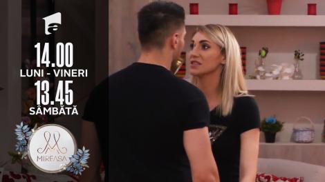 Mireasa Sezonul 3, 16 iulie 2021. Maria nu recunoaște că e geloasă? Alina contraatacă!