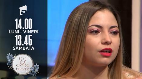 Gala Mireasa, 17 iulie 2021, sezonul 3. Alina, despre sărutul lui Alin: Adelina cred că și-a spart televizorul!