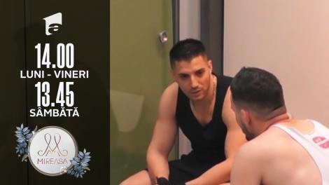 Gala Mireasa, 17 iulie 2021, sezonul 3. Liviu ar vrea ca Ionuț să câștige competiția!