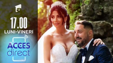 Acces Direct, 20 iulie 2021. Cântăreţul Laurenţiu Crăciun s-a căsătorit cu aleasa inimii sale
