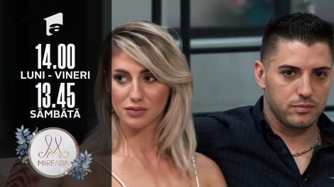 Mireasa Sezonul 3, 20 iulie 2021. Liviu și Maria, o relație ghidată din umbră de către doamna Mari