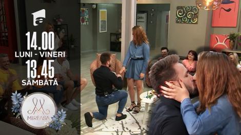 Mireasa, 27 iulie 2021, sezonul 3. Alin o cere în căsătorie pe Cosmina!