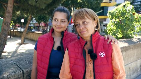 Cum e Asia Express pentru Adriana Trandafir şi fiica ei, Maria Speranţa