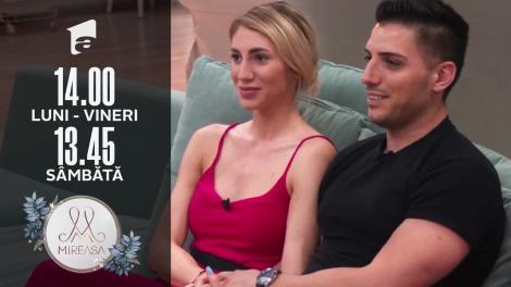 Mireasa sezonul 3, 29 iulie 2021. Maria și Liviu au făcut față cu bine și unei serii de păreri negative