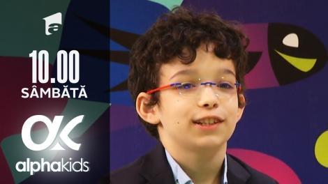 Alpha Kids, ediția 5. Copiii vorbesc limbi străine