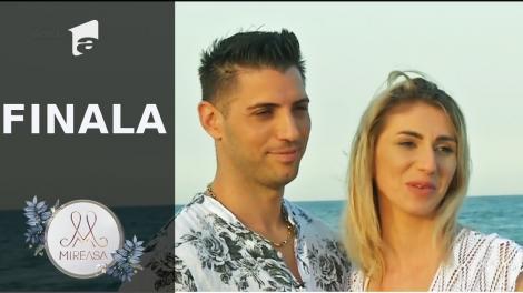 """Finala Mireasa sezonul 3, 1 august 2021. Liviu şi Maria, """"fantasy date"""" într-un cadru romantic la malul mării!"""
