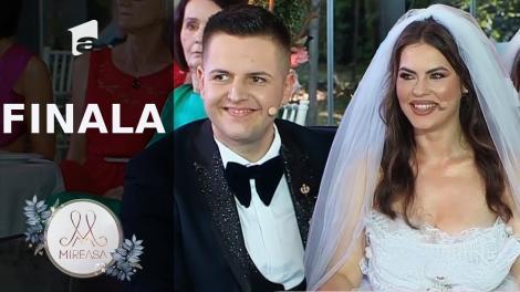 Marian și Andreea sunt susținuți de familie în Marea Finală Mireasa sezonul 3