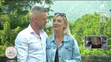"""Finala Mireasa, sezonul 3. Bogdan şi Anamaria, """"fantasy date"""" la castel cu maşina decapotabilă!"""