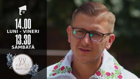 Gala Mireasa sezonul 4, 28 august 2021. Petrică, un cercetaş cu suflet de vioară