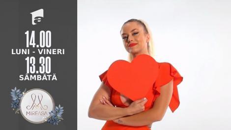 Gala Mireasa sezonul 4, 28 august 2021. Raluca se află în căutarea unui bărbat fidel