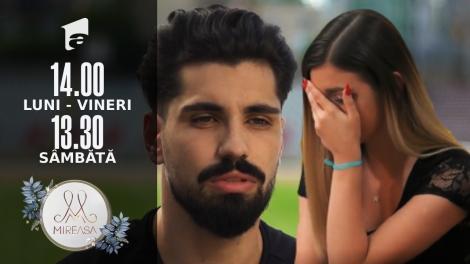 "Mireasa Sezonul 4, 1 septembrie 2021. Adelina și Alexandru, un dialog siropos! ""Ea nu a acceptat"""