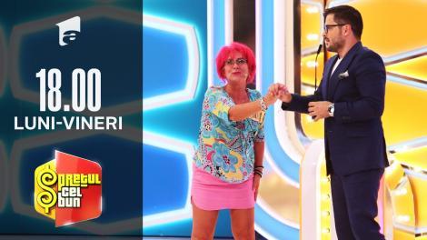 Preţul cel bun sezonul 1, 6 septembrie 2021: Cornelia a câștigat o călătorie all inclusive în Turcia