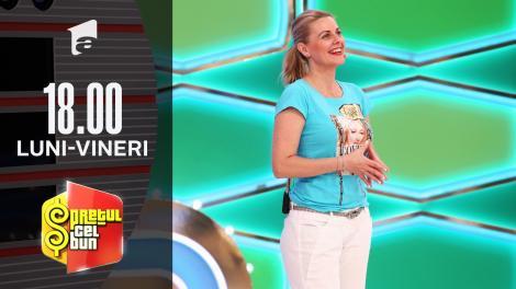 Preţul cel bun sezonul 1, 8 septembrie 2021: Gianina a câștigat 748 de lei